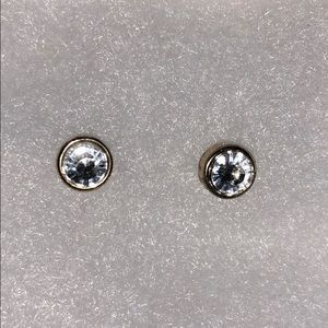 UO Faux diamond studs